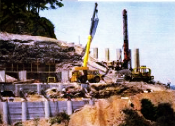 Grading, Drilling, Caissons & Foundations